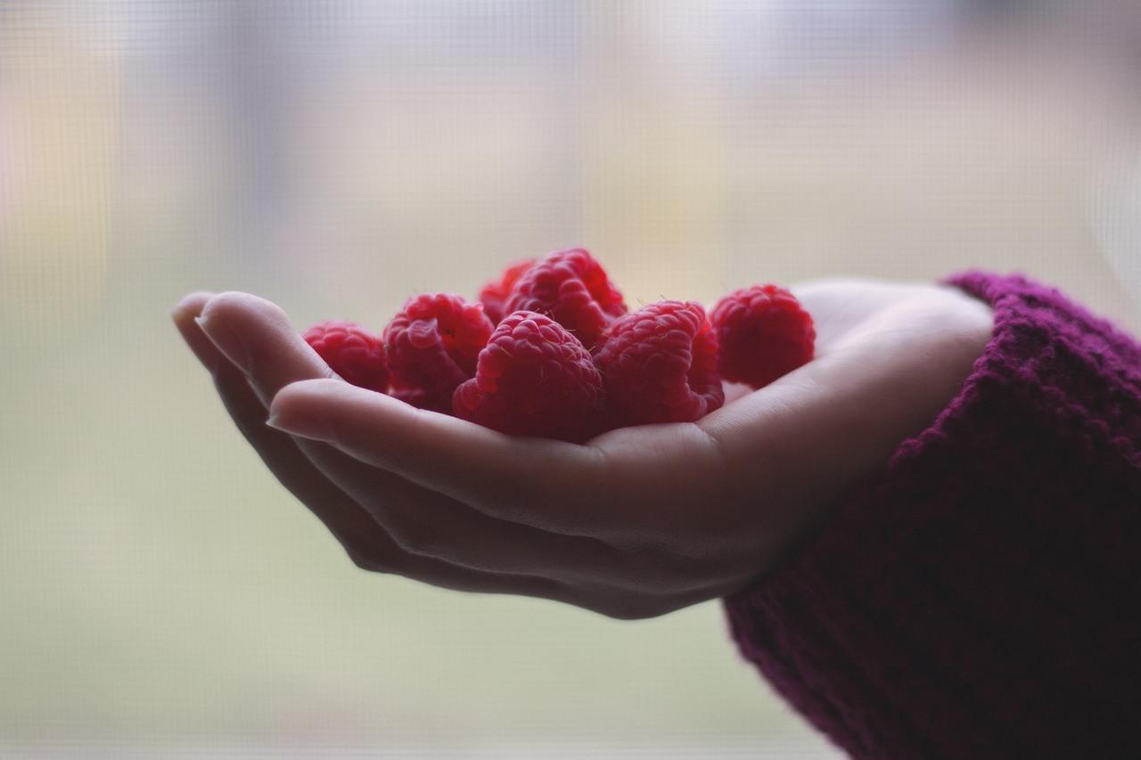 La framboise : aliment riche en fibre pour maigrir - Maman
